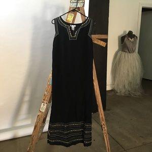 Carol Little Black Maxi Dress